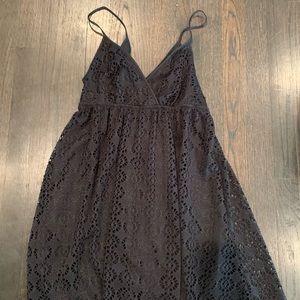 Express Eyelet Babydoll Dress